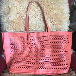 Large tote from Saks